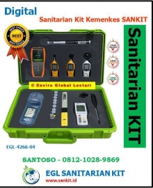 Sanitarian Kit Kemenkes 2021-2022-2023