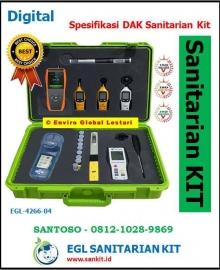 Spesifikasi DAK Sanitarian Kit