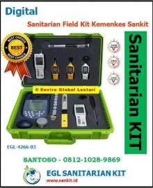 Sanitarian Field Kit Kemenkes Sankit