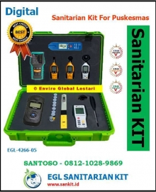 Sanitarian Kit for Puskesmas 2021-2022-2023